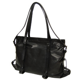 "PATRICK STEPHAN - Leather bag ""atelie"" M"