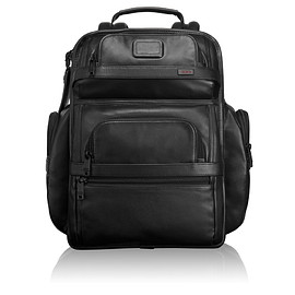 TUMI - ALPHA 2 BUSINESS LEATHER BRIEF PACK