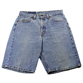 LEVI'S - Vintage 90s Levis 550 Relaxed Fit Jean Shorts Jorts Made in USA Mens Sz W31 L11