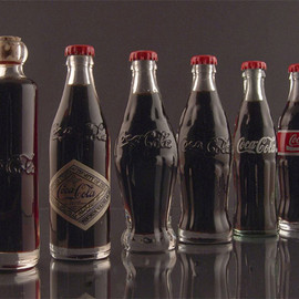 Coca-Cola - Evolution packaging of Coca Cola
