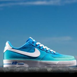 Nike - NIKE AIR FORCE 1 AC BR POLARIZED BLUE/WHITE