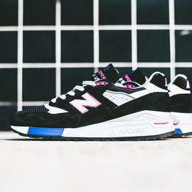 """New Balance - New Balance Made in USA M998BK """"American Author's Collection"""" Black/Violet"""