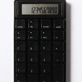 SAM HECHT - 10 KEY CALCULATER BLACK