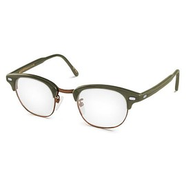 MOSCOT for Todd Snyder - YUKEL Glasses in Olive