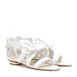 NICHOLAS KIRKWOOD - Origami leather sandals