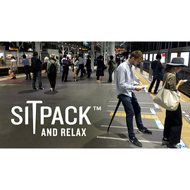 sitpack - SITPACK AND RELAX BLACK