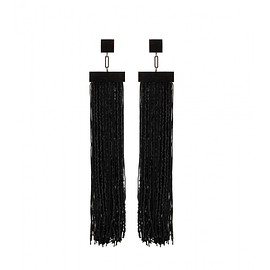 TOM FORD - FW2015 Fringed earrings