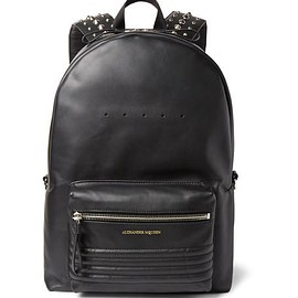 Alexander McQueen - Studded Leather Backpack