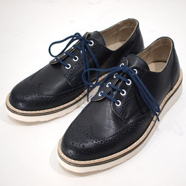 CEBO - Leather Wing Tip Shoes