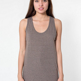 American Apparel - Unisex Tri-Blend Tank (Tri-Coffee)
