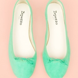 Repetto - soft green.