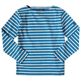 DAILY WARDROBE INDUSTRY - Le minor by DAILY WARDROBE INDUSTRY カットソー MONDAY 2nd(BLUE x ECRU)