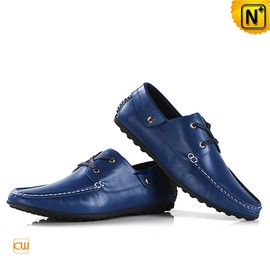 cwmalls - Mens Slip On Leather Driving Shoes CW740081