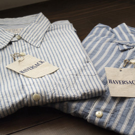 HAVERSACK - DUNGAREE STRIPE SHIRT