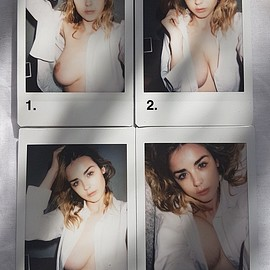 danielle sharp - Shirt Polaroids