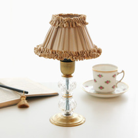 Kino - French Frill Stand Lamp (Small) (アイボリー×アイボリー)