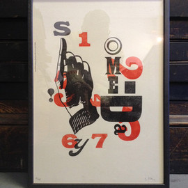 A TWO PIPE PROBLEM LETTERPRESS (Stephen Kenny) - SOMEDAY