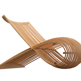 Cappellini, Marc Newson - Wood Chair 1988