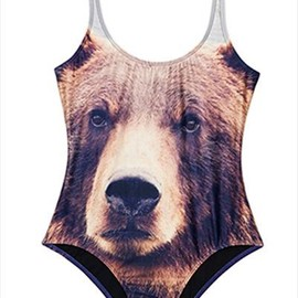We Are Handsome 'The Grizzly' swimsuit