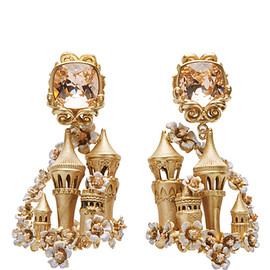 DOLCE&GABBANA - FW2016 Enchanted Castle Chandelier Earrings
