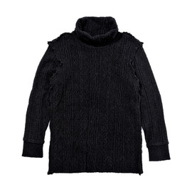 WHITE MOUNTAINEERING - TURTLE NECK CABLE KNIT