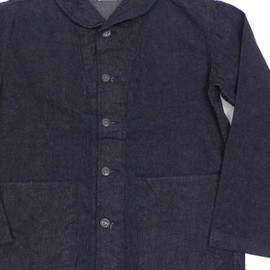 NOBLE MINE - NOBLE MINE(ノーブルマイン) NAVY DENIM WORK JACKET NM404-01