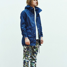 THE NORTH FACE PURPLE LABEL - THE NORTH FACE PURPLE LABEL 2014SS CAMOUFLAGE WEBBING BELT PANTS