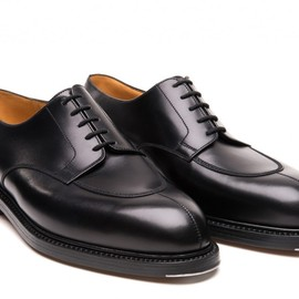 "J.M. Weston - ""Demi-chasse"" Derby shoes."