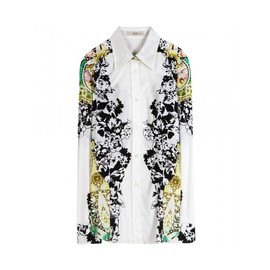 ETRO - PRINTED STRETCH-COTTON SHIRT(ETRO)