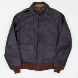 THE REAL McCOY'S - TYPE A-2 MFG CO. LEATHER JACKET