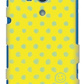 SECOND SKIN - uistore「Dot (Smile)」 / for  Xperia acro HD SO-03D/docomo