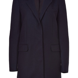SEE BY CHLOE - Blue Wool Coat