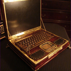 Steampunk Laptop