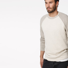 JAMES PERSE - BASEBALL RAGLAN PULLOVER