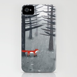 Squirrell - The Fox and the Forest iPhone Case