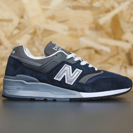 New Balance - New Balance Made in USA 997 Navy/Grey