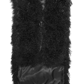 GIVENCHY - Vest in black shearling