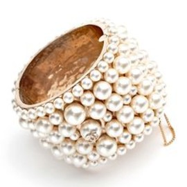 CHANEL - Chanel Spring 2013 ,pearl bangle