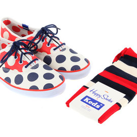 Happy Socks x Keds - Champion Sneakers