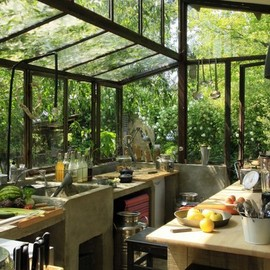 Greenhouse Kitchen - Kitchens with Windows