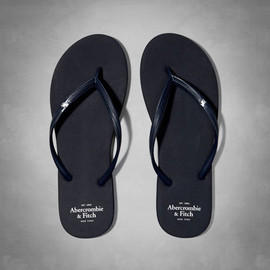 Abercrombie & Fitch - Womens Rubber Flip Flops