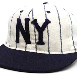 COOPERSTOWN BALL CAP - NEWYORK BLACK YANKEES 1936