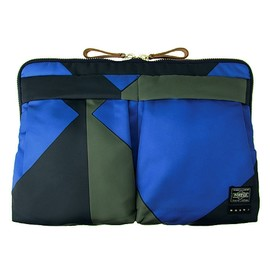 MARNI×PORTER - CLUTCH BAG (BLUE)