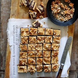 Bakers Royale - Peanut Butter and Caramel Crunch Fudge