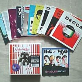 The Who - the 1st SINGLES box CD set