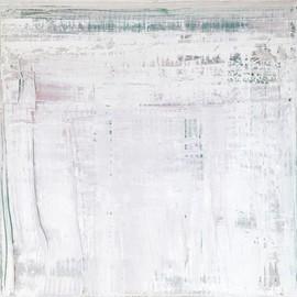 Gerhard Richter - Abstract Painting (2009) / 102cmx102cm, oil on canvas, CR:910-5