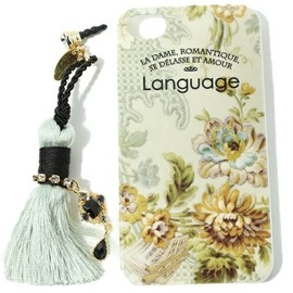 "Language - iPhoneケース ""Flower"""