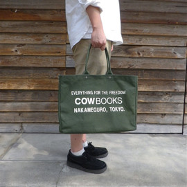 "COW BOOKS - Original Tote Bag ""Container Medium"""
