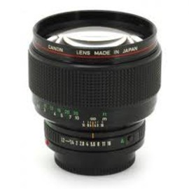canon - New FD 85mm F1.2L