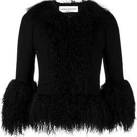 Sonia Rykiel - cropped fur jacket